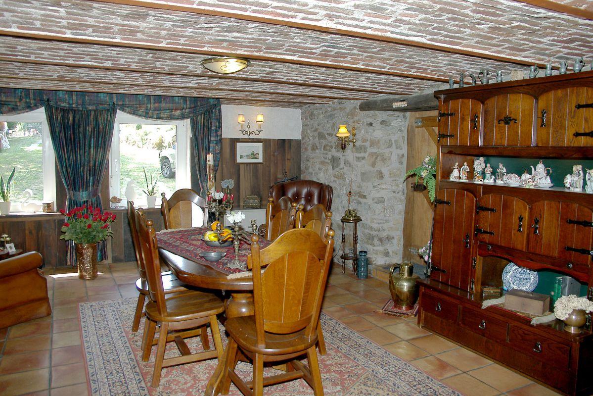woonkamer vakantiehuis Ardennen