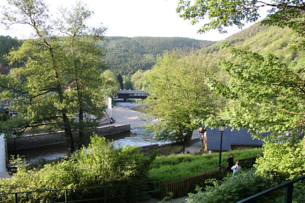 huisje Ardennen huren watervallen van Coo