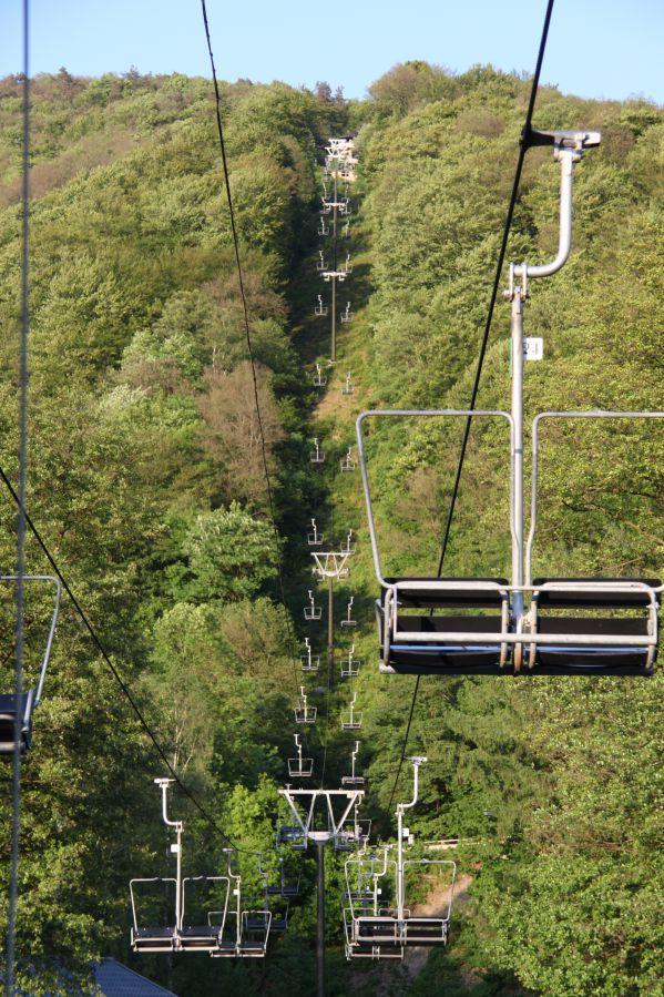 Huisje huren Ardennen skilift voor pistes tijdens wintersport