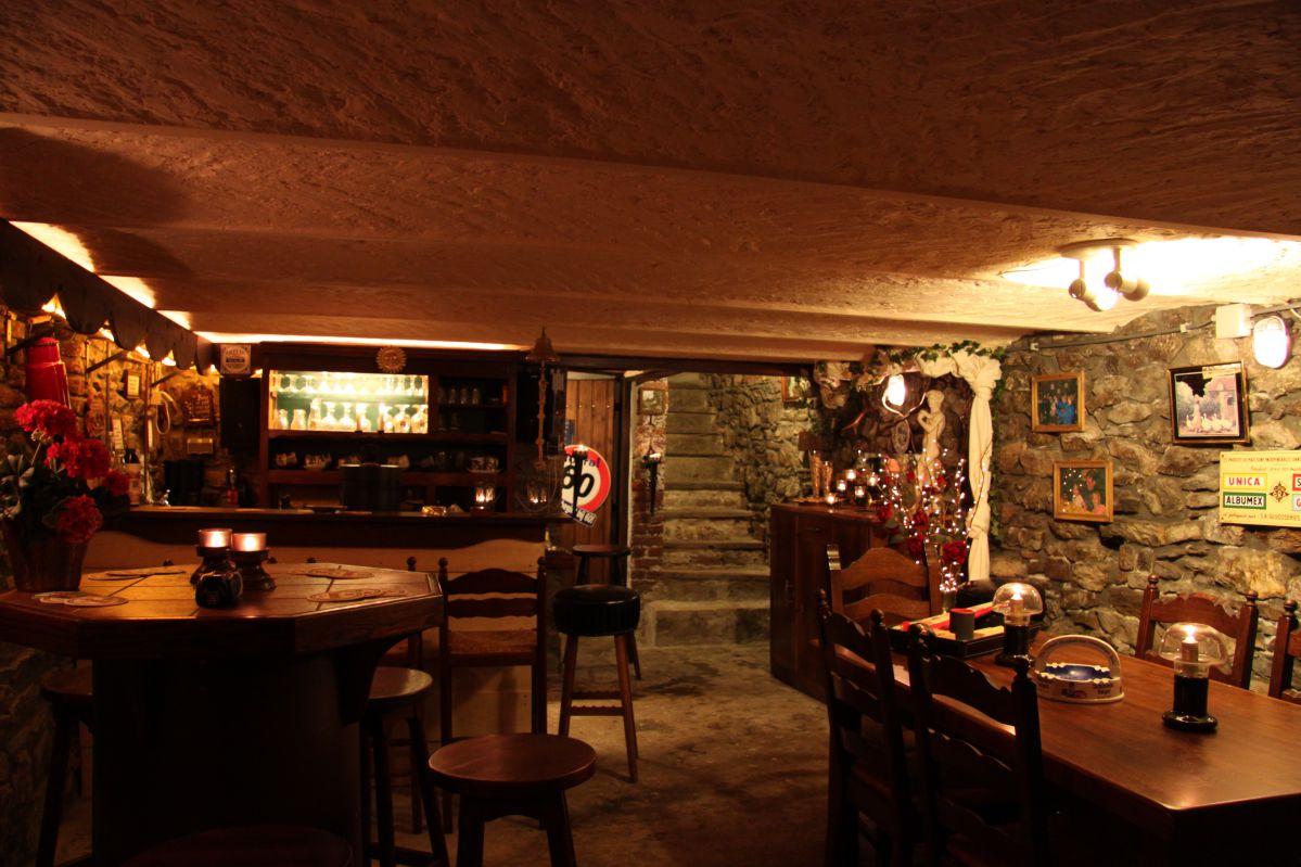 Ardennen vakantiehuis sfeervolle bar feestzaal